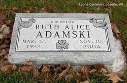 Ruth Alice <i>Betker</i> Adamski