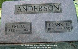 Frank T Anderson