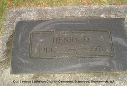 Henry O Anderson