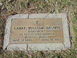 Lieut Labry William Brown