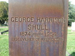 George Harrison Shull