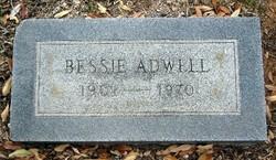 Bessie Jane <i>Donoho</i> Adwell