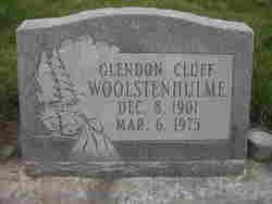 Glendon <i>Cluff</i> Woolstenhulme