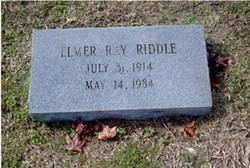 Elmer Ray Riddle