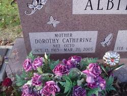 Dorothy C <i>Otto</i> Albitz