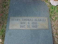 Henry Thomas Blakely