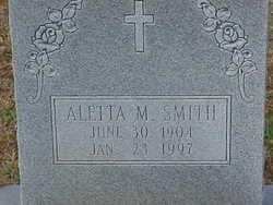 Aletta M. Smith