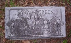 Sara M. <i>Green</i> Appleby