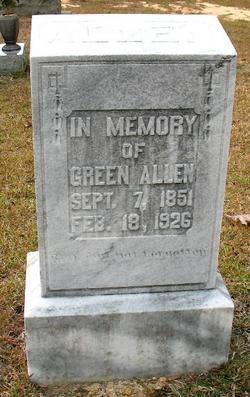 William Green Green Allen
