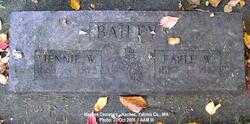 Earle William Bailey