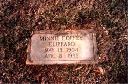Clara Minerva Minnie <i>Coffey</i> Clippard