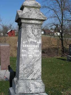 Rev Luman Walker Lemasters, Sr
