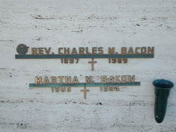Rev Charles M. Bacon