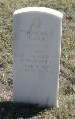 Thomas C Barr