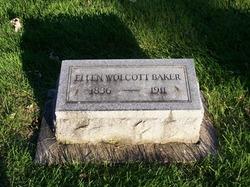 Ellen Huldah <i>Wolcott</i> Baker
