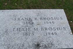 Frank R Brosius