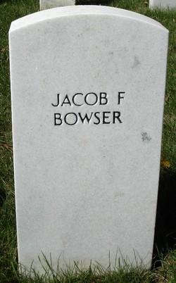 Pvt Jacob F. Bowser