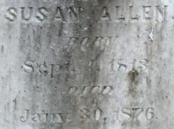 Susan <i>Roby</i> Allen