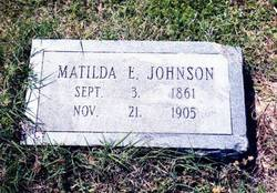 Matilda Eleanor Ella <i>Rollison</i> Johnson