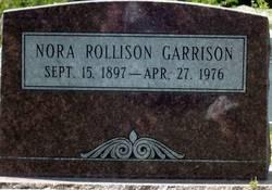 Nora <i>Rollison</i> Garrison