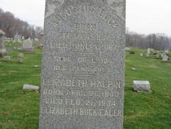 Elizabeth <i>Halpin</i> Buck Ealer