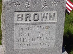 Alice B Brown
