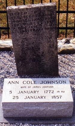 Ann <i>Cole</i> Johnson