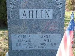 Carl E Ahlin