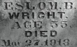 Eslom B. Wright