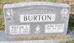 June <i>Cook</i> Burton