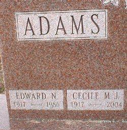 Cecile M J <i>Demers</i> Adams