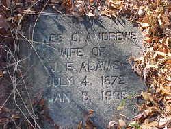 Agnes O. <i>Andrews</i> Adams