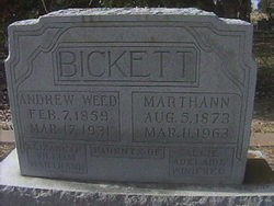 Andrew Weed Bickett