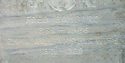 Emma <i>Williams</i> Bombard