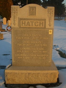 Jane (Jean Tinto) <i>Bee</i> Hatch