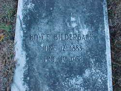 Boyce Bilderback
