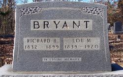 Lucinda M. Lou <i>Mitchell</i> Bryant