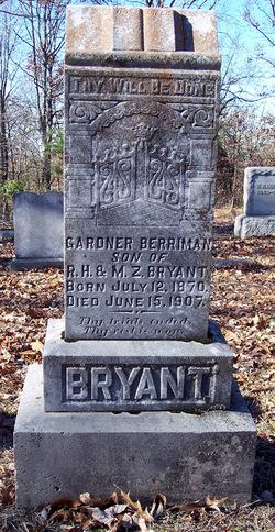 Gardner Berriman Bryant