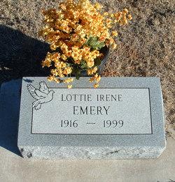 Lottie Irene <i>Roberson</i> Emery