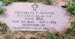 Pvt Franklin F Heater