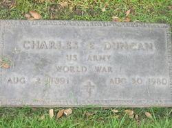 Charles E Duncan