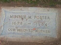 Minnie M <i>Stewart</i> Foster
