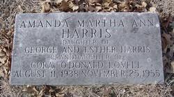 Amanda Martha Ann Harris