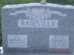 PFC Edward Joseph Radzvilla, Sr
