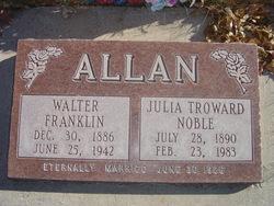 Walter Franklin Frank Allan
