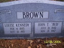 John Thomas Bud Brown