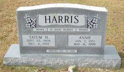 Annie <i>Plunkett</i> Harris
