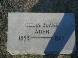 Celia <i>Blake</i> Aden