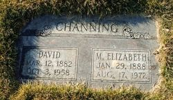 Maude Elizabeth Lizzie <i>Doty</i> Channing
