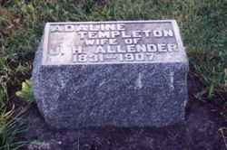 Adaline Hill <i>Templeton</i> Allender
